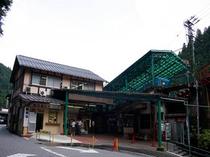 御嶽登山鉄道滝本駅