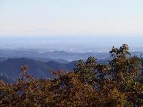 御岳山からの眺め