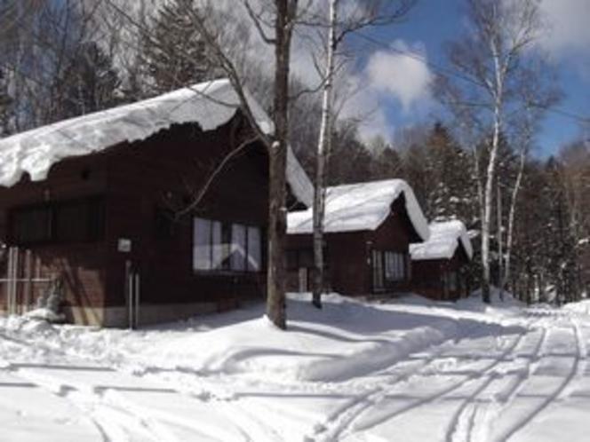 冬景色のCコテージ(イメージ)