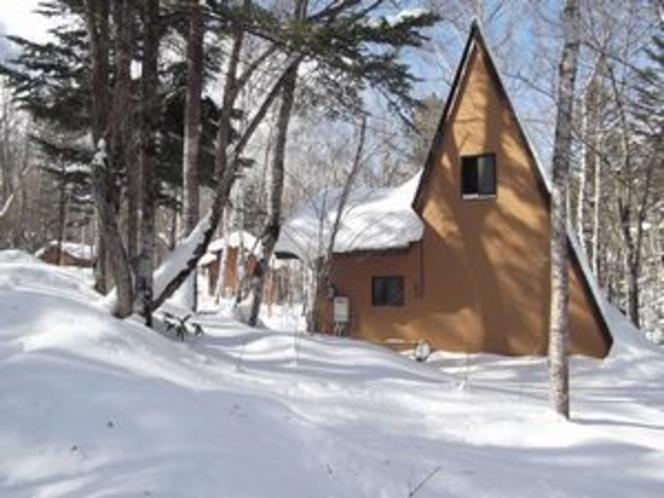 冬景色のBコテージ(イメージ)