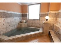 貸切風呂「ローマ」※榊原温泉。