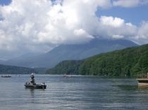 野尻湖バス釣り