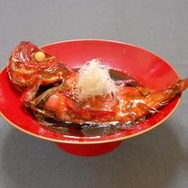 ■金目鯛煮付■金目鯛を丸々一匹使用した甘辛煮はお客様に大好評です!