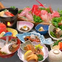 ■定番・磯コース■磯料理が盛りだくさん!地元の海の恵みを存分にご堪能ください。