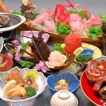 ■大漁コース■贅沢三昧!地物食材をとことん味わえる豪華なラインナップメニュー!