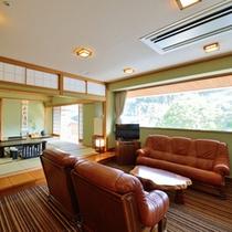 *【特別室】17.5畳のリビングルーム