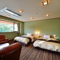 *【特別室】ツインベッドはクイーンズサイズ