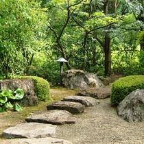 *離れ庭園