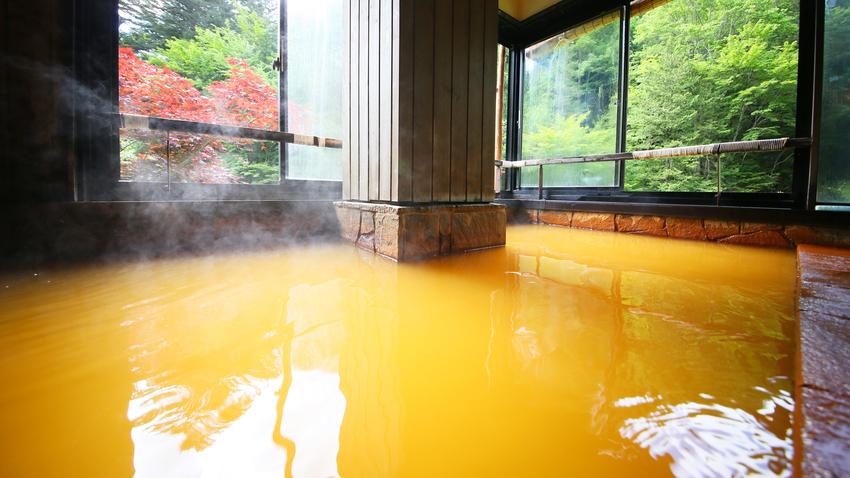 *【温泉】開放式露天風呂