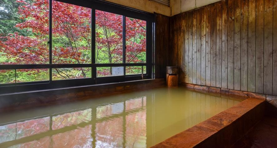 *【温泉】開放式露天風呂(男湯)
