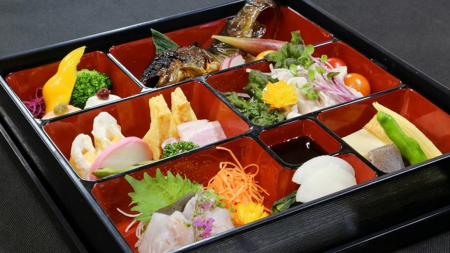 *【夕食】お弁当/お料理全体(一例)