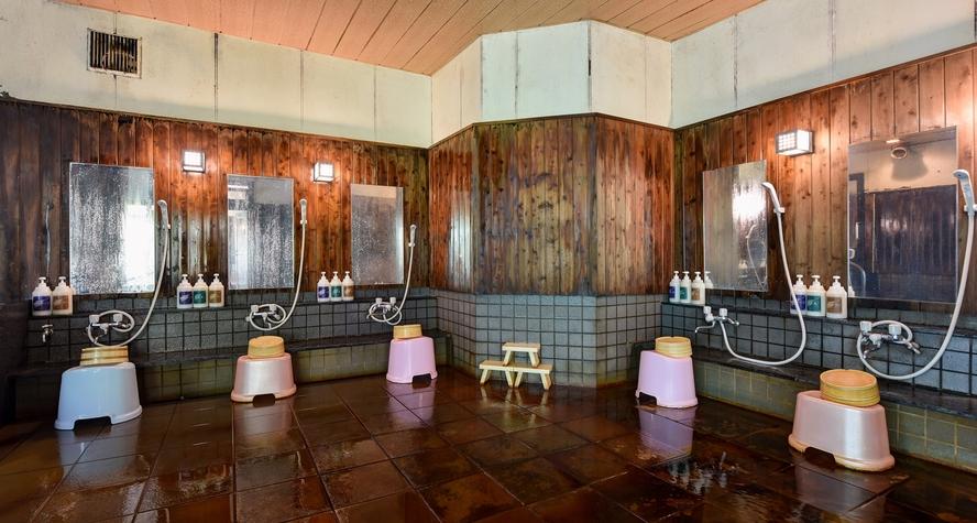 *【温泉】大浴場洗い場