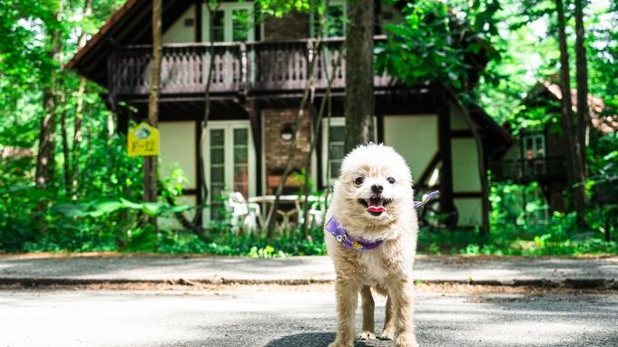 【ペット同伴棟】特典付♪1棟1組完全貸切グランピングコテージでペットと過ごす特別な休日/素泊まり