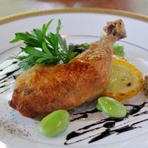 選べる4種のメインCHEF'S dinner ~中札内鶏