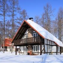 フェーリエンハウス(冬)