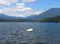 夏の野尻湖・・車で5分