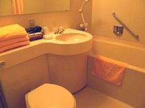 お部屋のユニットバス 洗浄機能付きトイレ