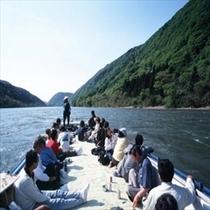 『夏』の最上川舟下り