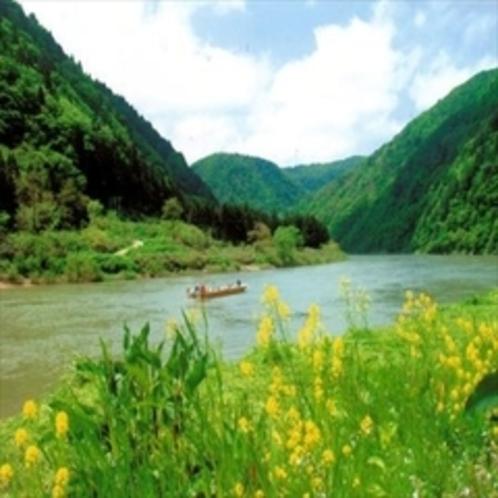 【プラン】『最上川舟下り乗船券付』四季に変化する最上川を肌で感じられます♪