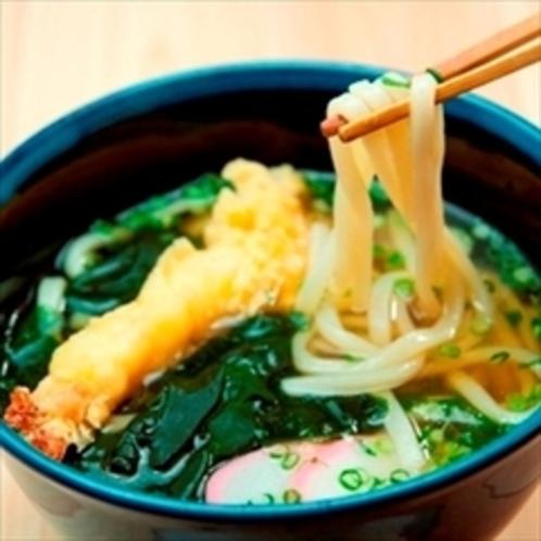 【夕食】オリジナルスープがいい!『天ぷらうどん』