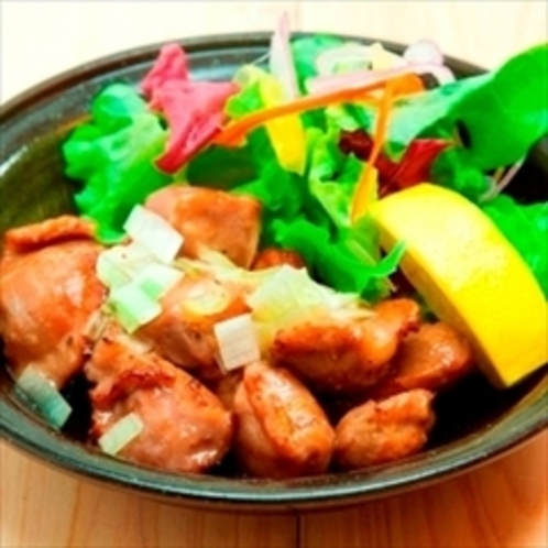 【夕食】意外なスピードメニュー『砂肝の葱塩ダレ』