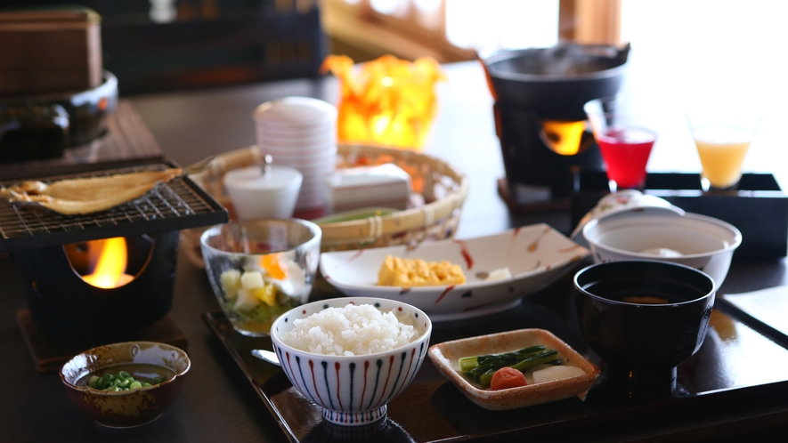 【ご朝食】お腹にも心にも優しいご朝食をご用意しております