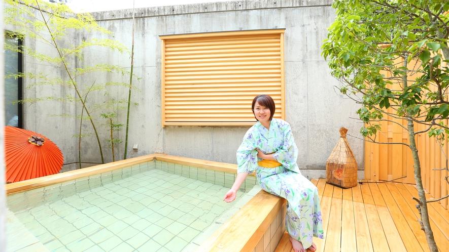 木の露天風呂 (男女入れ替え制)