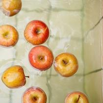 【冬季限定】りんご風呂 12月~2月中旬まで