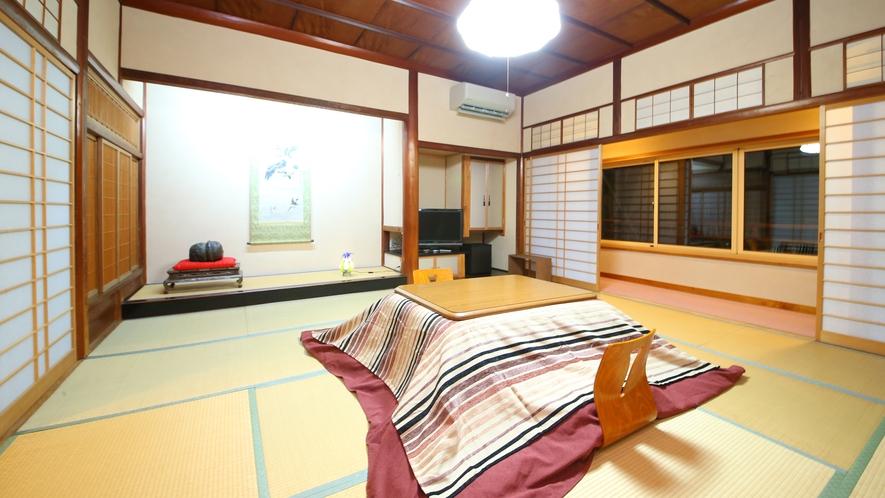 【竜胆】大正時代に建てられた格式ある造りのお部屋。