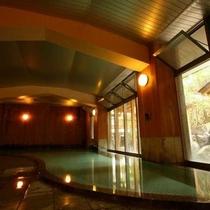 【湯めぐり②】よろづや旅館の大浴場「東雲風呂」時間帯で男女交代制
