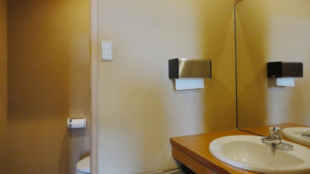 *館内一例:お手洗い