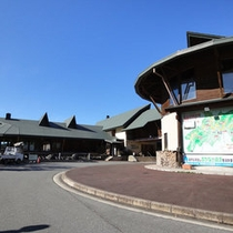 *標高600mの高原に建つ木の温もり溢れる一軒宿です