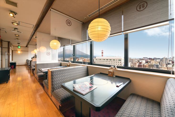 15階 日本料理・しゃぶしゃぶ 「三十三間堂」