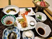 グループプランの夕食一例