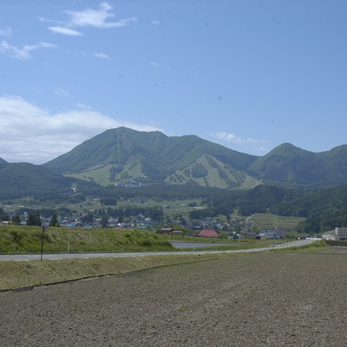 木島平の風景