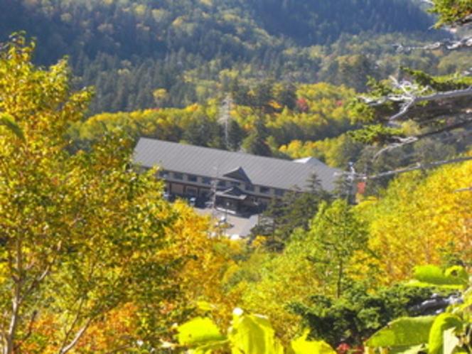 秋のカミホロ荘