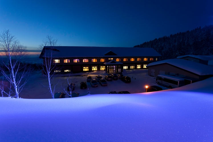 冬のカミホロ荘