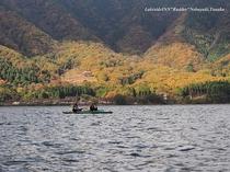 カヌー体験ツアーで紅葉狩り②♪