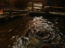 白藤の湯・湧泉