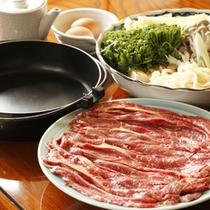 料理一例(桜鍋)