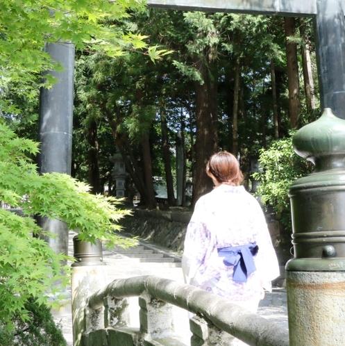諏訪大社下社秋宮を散策&お参りへどうぞ♪