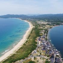 【小天橋海水浴場】当館から徒歩すぐ!約6キロにわたり続くロングビーチ(当館より徒歩約10分)