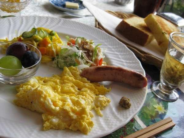 *朝食プレート