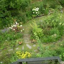 *当館の庭