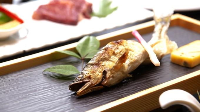 鮎は塩焼き、とうもろこしはもろこし御飯など、旬の食材をシンプルに味わう◆龍馬会席プラン〈夏〉