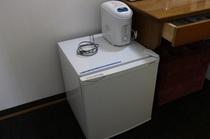 冷蔵庫と加湿器