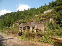 土倉鉱山跡