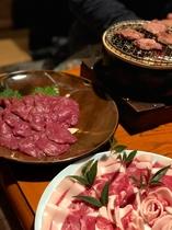いのしし鍋・クマ鍋