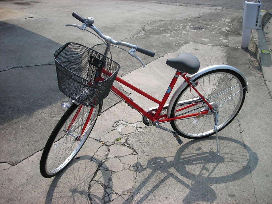 自転車レンタル無料