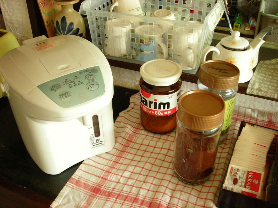 コーヒー・お茶サービス